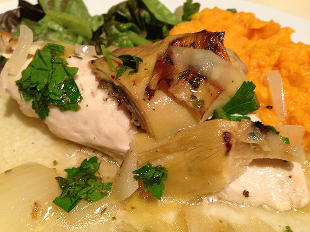 Chicken artichoke