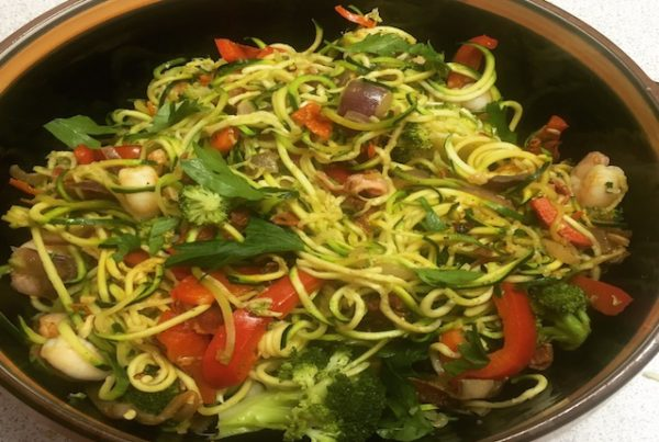 Surf & Turf Courgetti