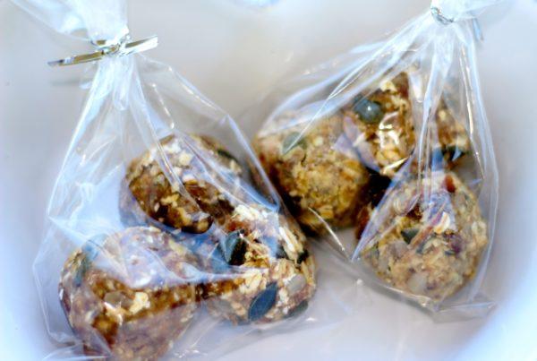 Mixed Seed Tahini Balls
